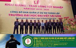 Các dịch vụ bảo vệ chuyên nghiệp tại tphcm
